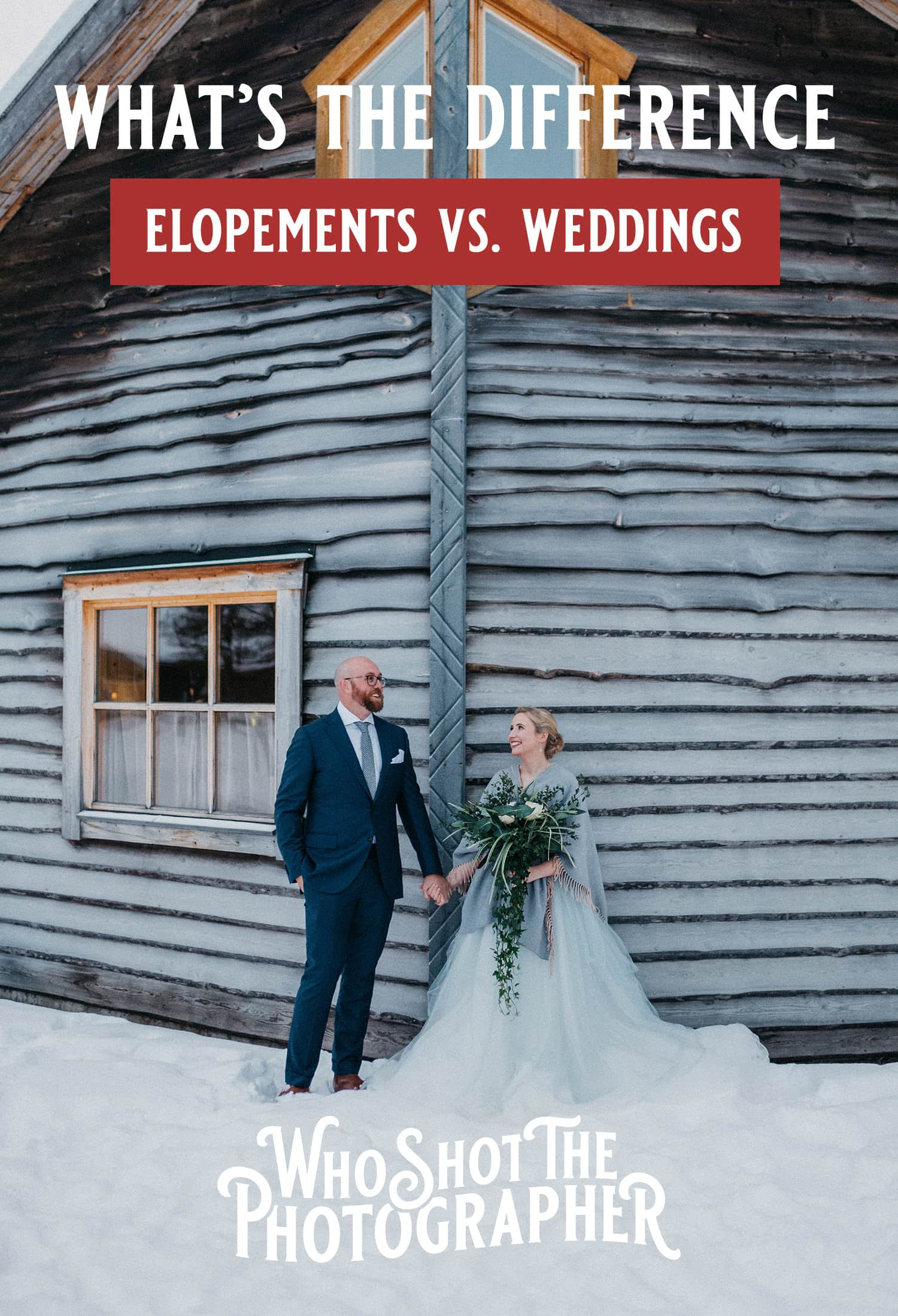 What is an elopement, Elopements vs. Weddings – What's the difference?
